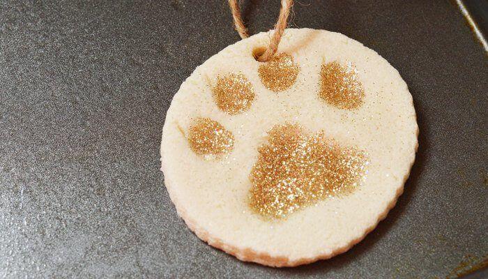kerstdecoratie hond